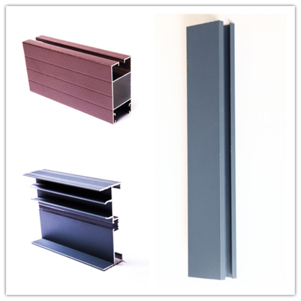 Powder Coating Aluminum Profiles