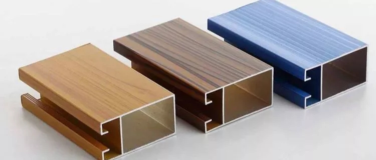 Wood Aluminium Extrusion Profiles